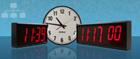 Network Clock Anzeige