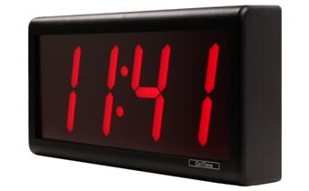 Was ist mit dem 4 Digit PoE Clock enthalten