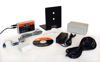 was mit dem TS-700-MSF Zeitserver im Netzwerk geliefert